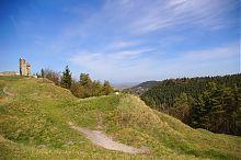 Северо-западный склон кременецкой горы Черча