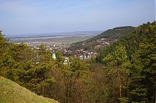 Вершины Черча и Воловица Авратинской гряды Кременецких гор