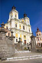 Колишній єзуїтський костел Кременця