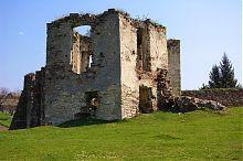 Северо-западный бастион замка в Подзамочке
