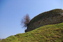 Западные укрепления крепости в Подзамочке