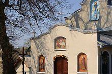 Фрески центрального фасада церкви Рождества Пресвятой Богородицы в Подзамочке