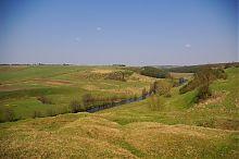 Долина Стыпы в районе Подзамочского замка