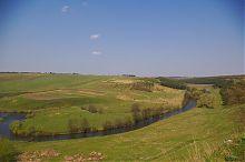 Изгиб реки Стрыпы в районе Подзамочка