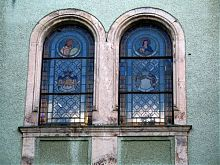 Витражи дворца Шенборнов в Чинадиево