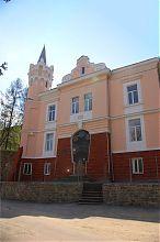 Центральный фасад бучачского районного Дома культуры