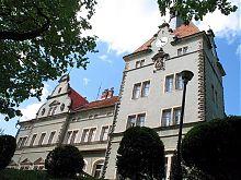 Северный фасад дворца Шенборнов в Чинадиево