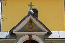Декоративний аттик церкви Святого Миколая Бучача