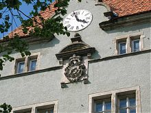 Фамильный герб Шенборнов дворца в Чинадиево
