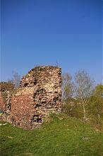 Фрагмент східної оборонної стіни Бучацького замку