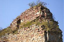 Південно-західний кут бучацького замкового комплексу