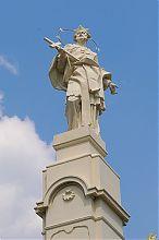 Статуя святого Яна Непомуки в Бучачі