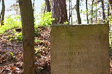Памятный знак теребовлянских оборонных валов князя Василька