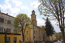 Центральний фасад Теребовлянської ратуші