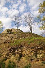 Южная эллипсовидная бастия замка в Теребовле
