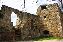 Центральный вход крепости в Теребовле