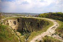 Напольная сторона восточной бастии теребовлянской крепости