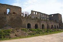 Терраса замка в Чорткове