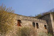 Юго-восточная оборонная стена замка Чорткова