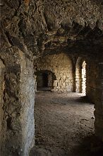 Внутренние помещения первого яруса крепости в Чорткове