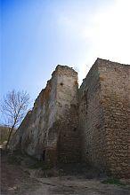 Северо-западная стена Чеортковской крепости