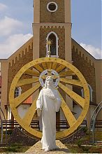 Статуя Ісуса церкви Непорочного Зачаття Чорткова