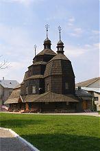 Восточный фасад Восточный фасад чортковской Вознесенской церкви