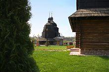 Северо-западный фасад храма Вознесения Господнего Чорткова