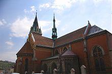 Північно-східний фасад костелу Святого Станіслава у Чорткові