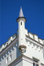 Декоративное оформление башен Белокриницкого замка
