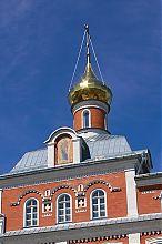 Декоративная главка бывшей Почаевской богословской школы