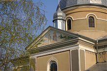 Фронтон скалатской Преображенской церкви