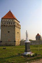 Святой защитник замка в Скалате