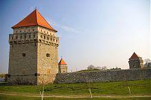 Юго-западная крепостная стена Скалатского замка