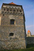 Зовнішній фасад східної вежі Скалатської фортеці
