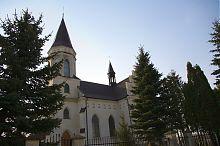 Северный фасад католического костела Скалата