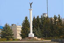 Гусятинский монумент Независимости Украины