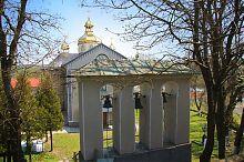 Колокольня гусятинской церкви Покрова Пресвятой Богородицы