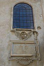 Оформление оконных проемов гусятинского бернардинского монастыря