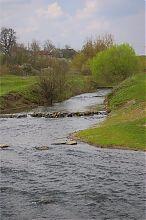Річка Суходіл в Сидоріві