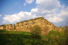 Юго-западный угол оборонного периметра Микулинецкой крепости