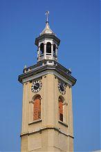 Годинникова вежа ратуші у Бережанах