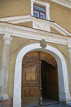 Портал входа бережанской ратуши