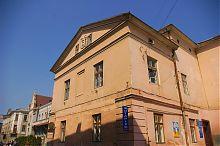 Південний фасад бережанської будівлі магістрату