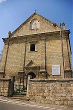 Центральний фасад бережанської вірменської церкви