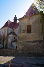 Дзвіниця фарного костелу в Бережанах