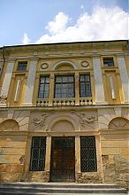 Ризаліт північного фасаду Раївського палацу Потоцьких