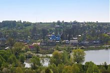 Ставки в районе Вишневца на реке Горынь