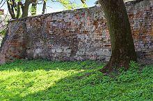 Внешний периметр ограды Подзамче возле кармелитского монастыря Вишневца