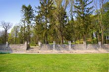 Подпорная стена вишневецкого парка